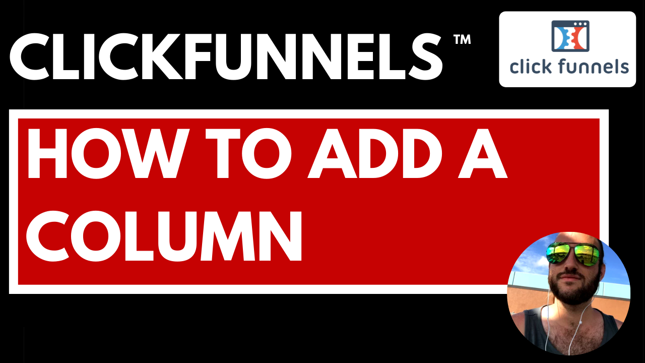 Clickfunnels How to Add Column